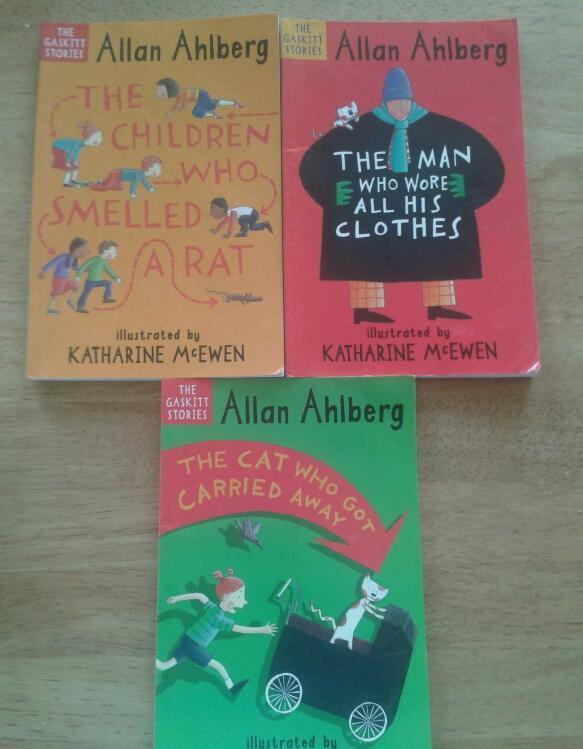Set of 3 books written by Allan Ahlberg