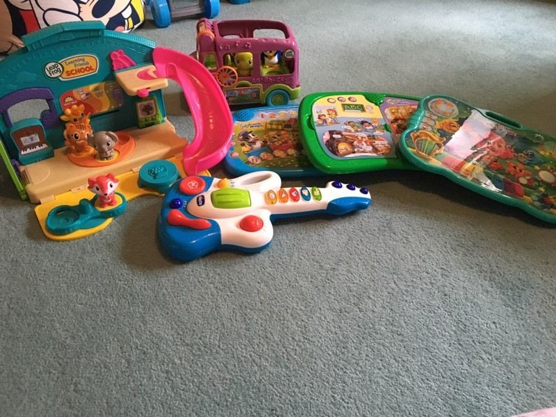Leap Frog Learning Toys & Chicco Guitar