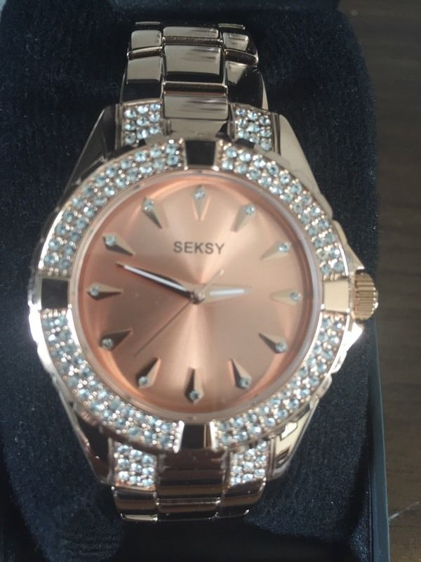 Brand new rose gold watch by sesky