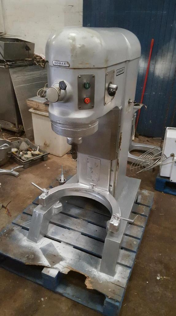 Bakery equipment. Hobart H600 planetary mixer.