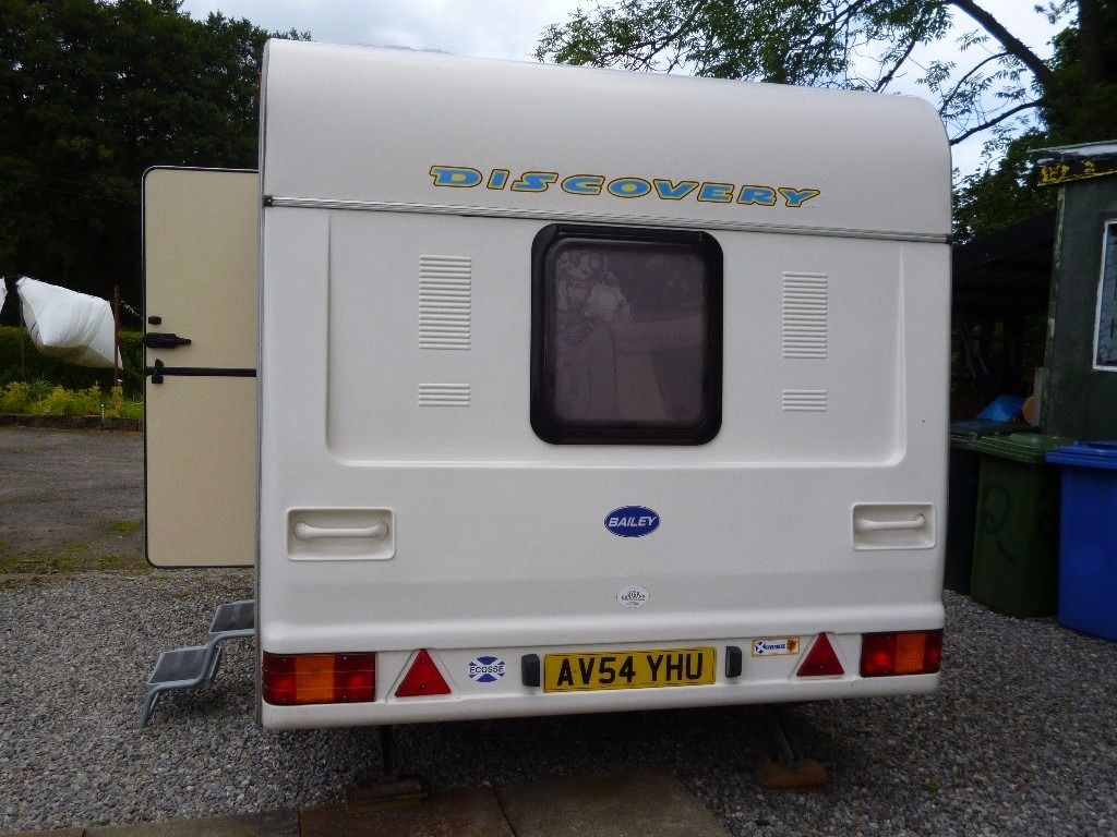 4 Berth Bailey Discovery Caravan For Sale