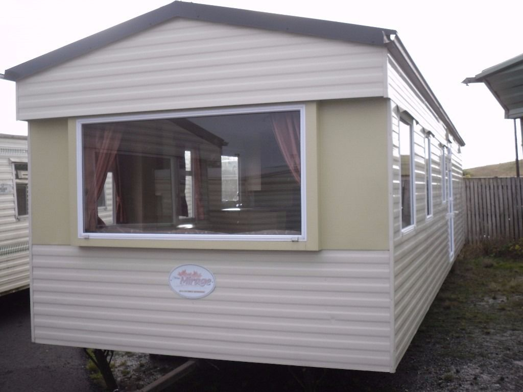 Atlas Mirage FREE DELIVERY 2009 model 35x10 3 bedrooms tiled roof off-site static caravan