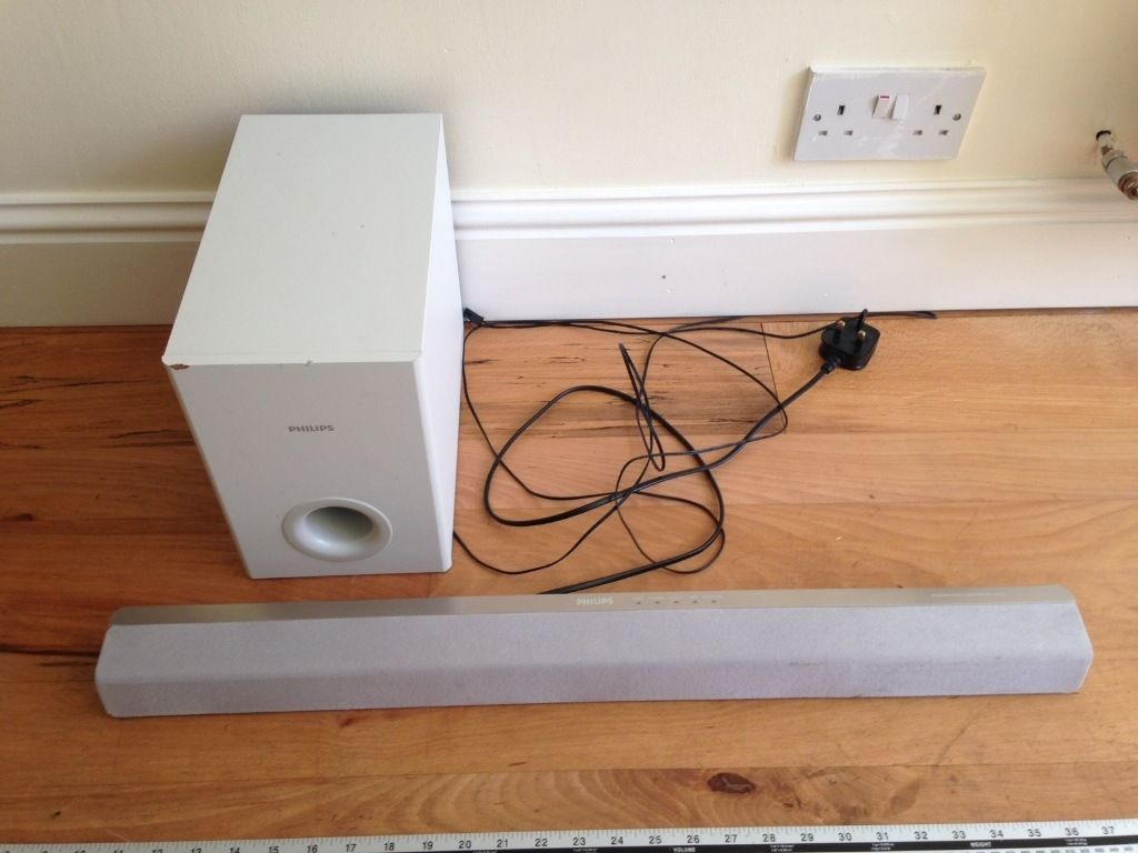 Phillips Soundbar and Sub Woofer