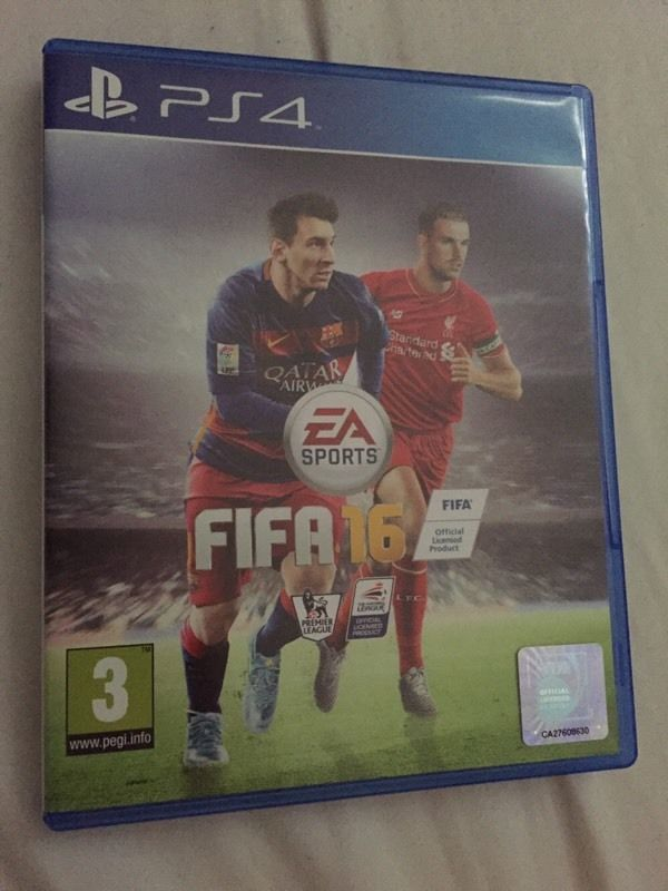 Fifa 16 for PS4 very good condition
