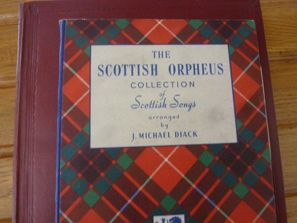 The Scottish Orpheus Collection/joan Alexander