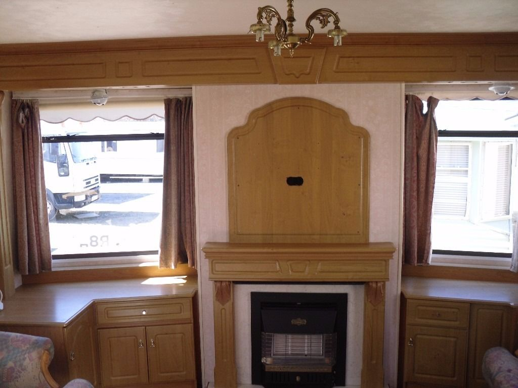 Atlas Deaville Super FREE DELIVERY 32x12 2 bedrooms gas central heating 2 bathrooms static caravan