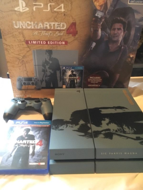 Sony PlayStation 4 1TB Uncharted 4: A Thief's End Special Edition Console and games