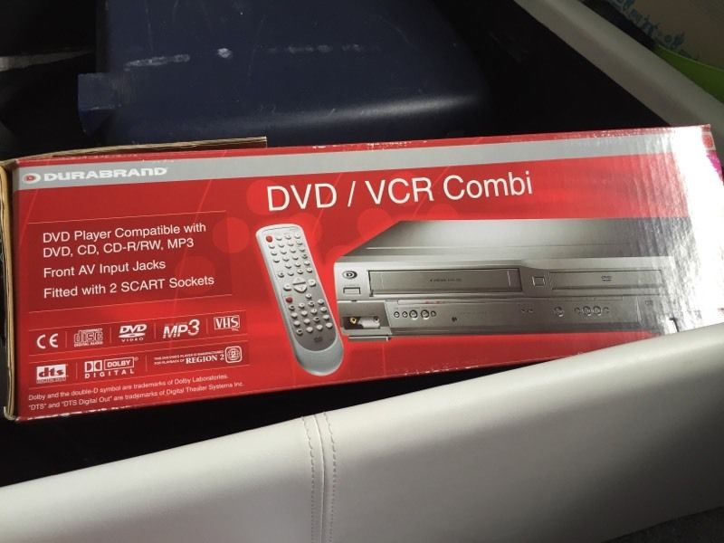 For sale DVD/VCR combi
