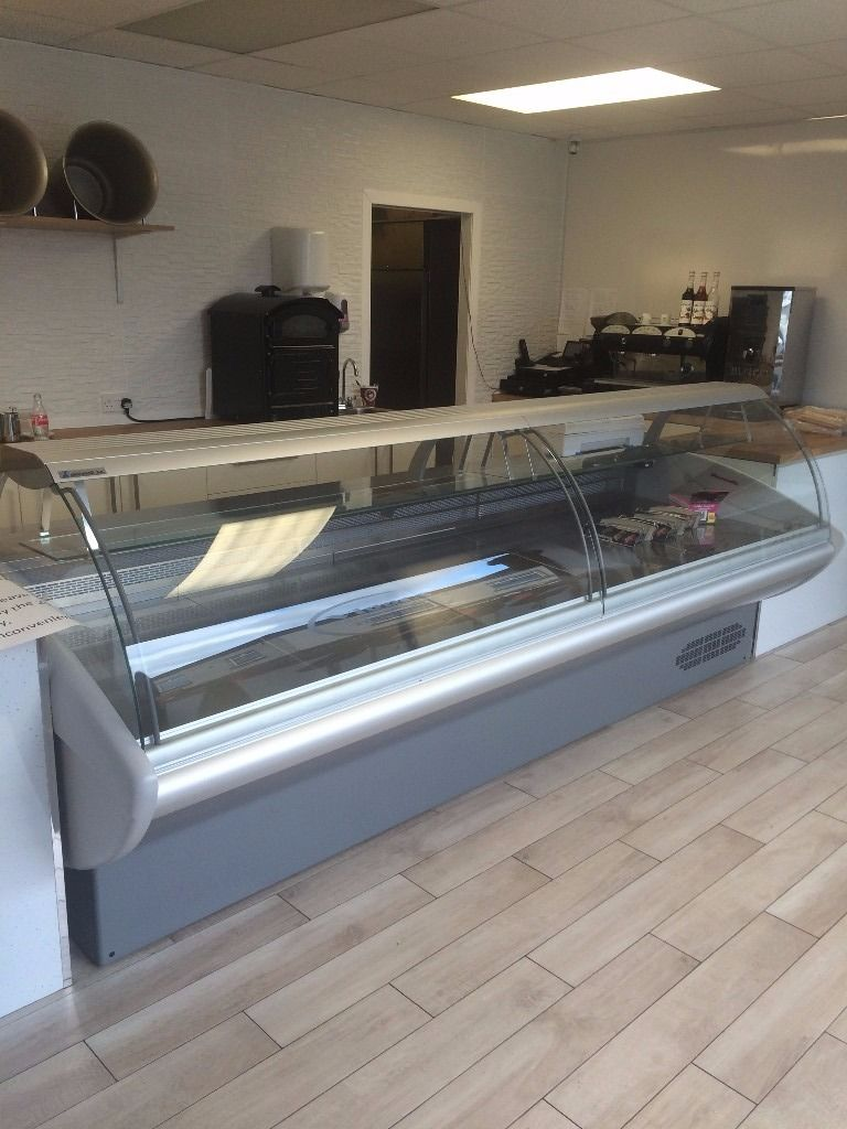 Refrigerated serve over Counter