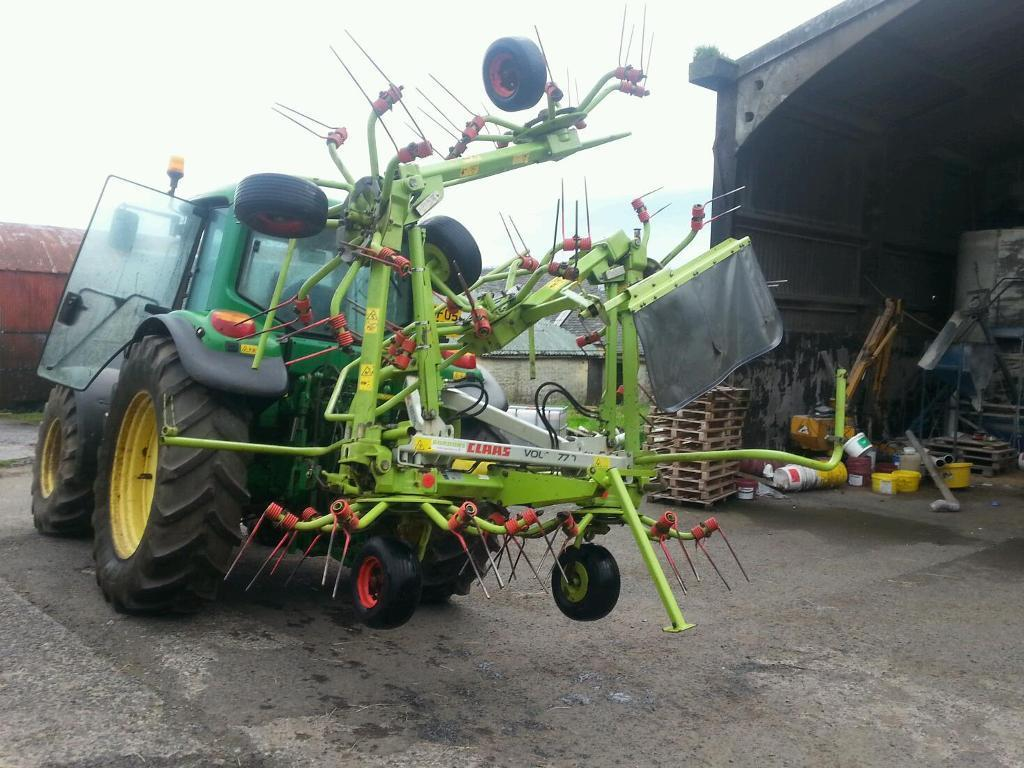 Claas volto 770 6 rotor tedder 2011