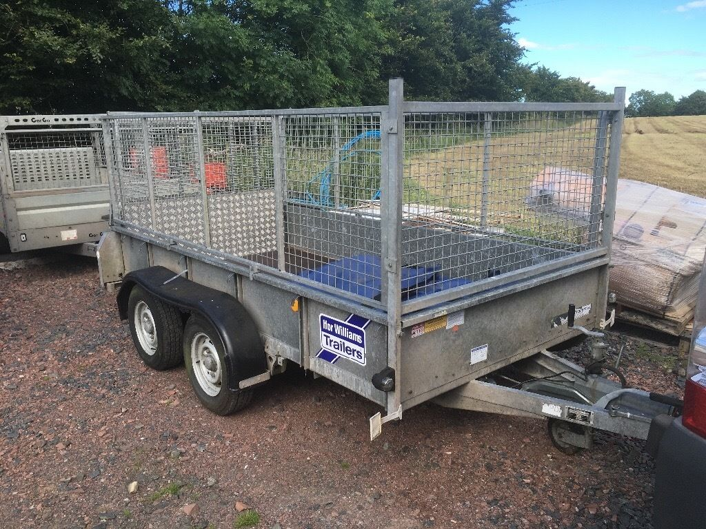 Ifor Williams gd 105 trailer with cage sides