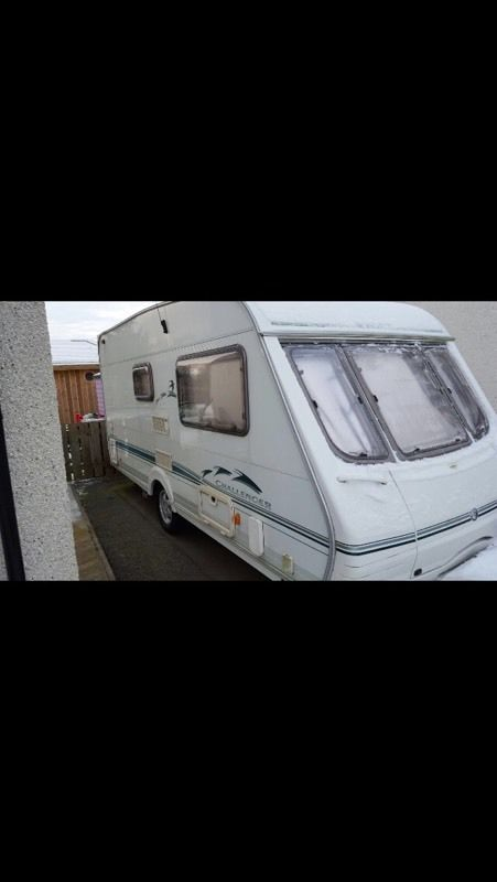 Swift challenger, 2 berth caravan