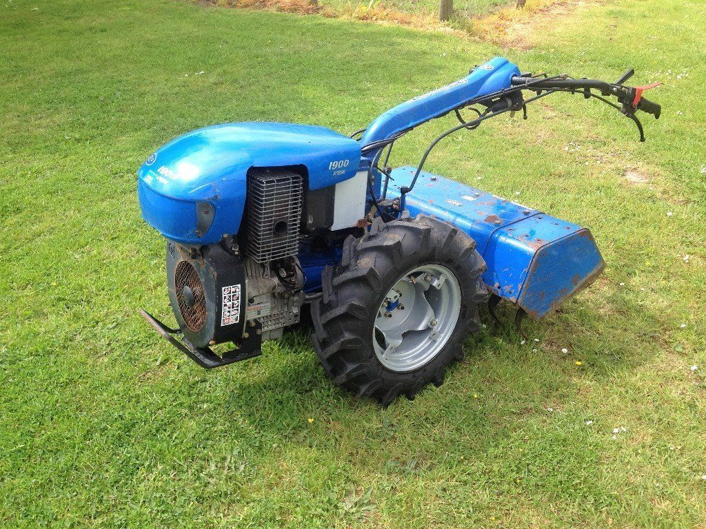 Rotavator, Rotovator- SEP Lombardini 12.2hp Walking Tractor- Diesel Electric Start