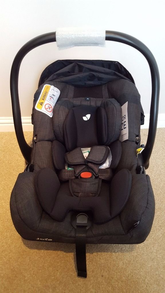 Joie I-Gemm Baby Car Seat - Pavement : Brand new/Never used : Considerably Less than half Price