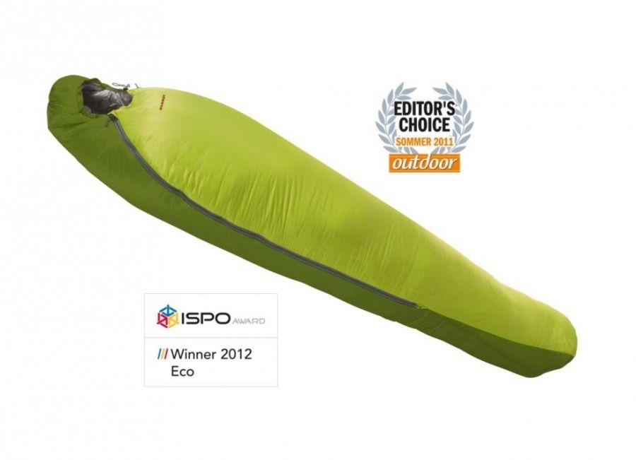 Sleeping Bag Ajungilak Mammut Alpine UL 3- Season yellow LIGHTWEIGHT SYNTHETIC SLEEPING BAG
