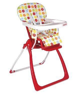 Cossato on the move high chair