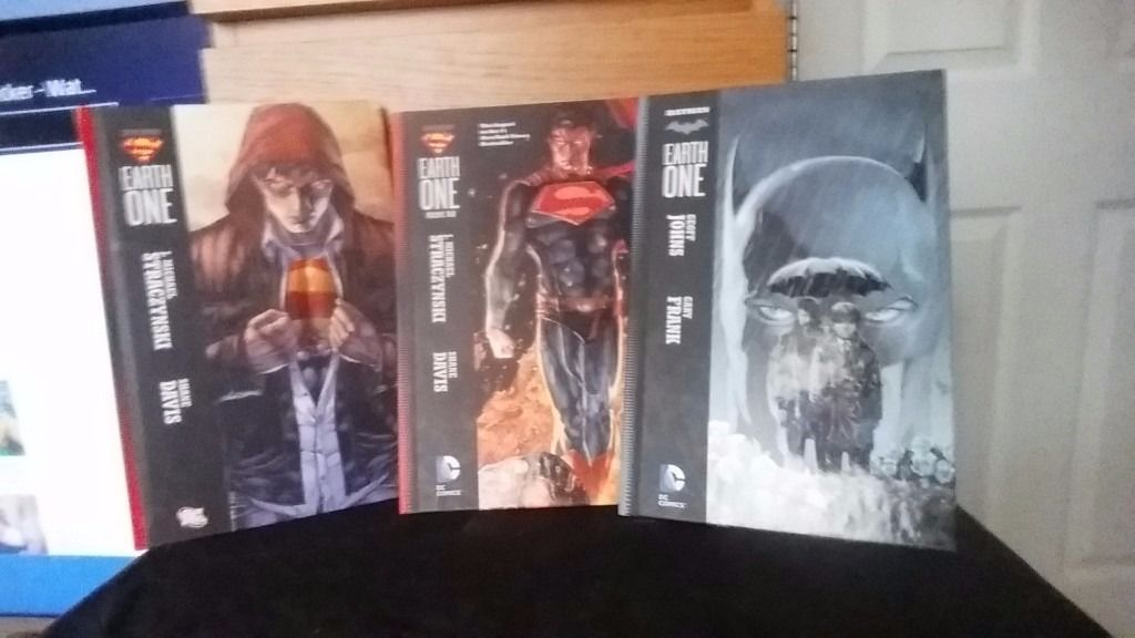 DC earth one hardcover collections