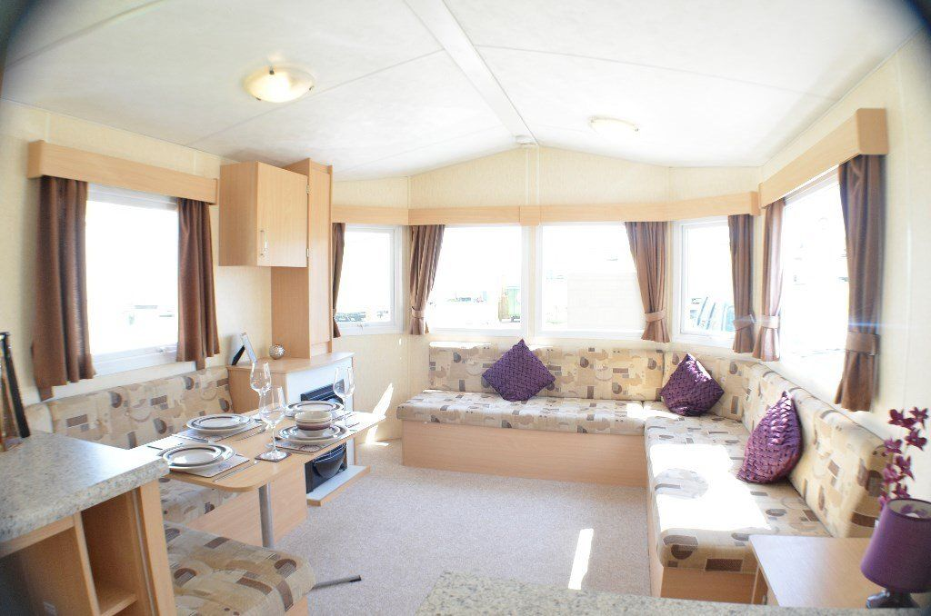 cheap caravan for sale at Southerness