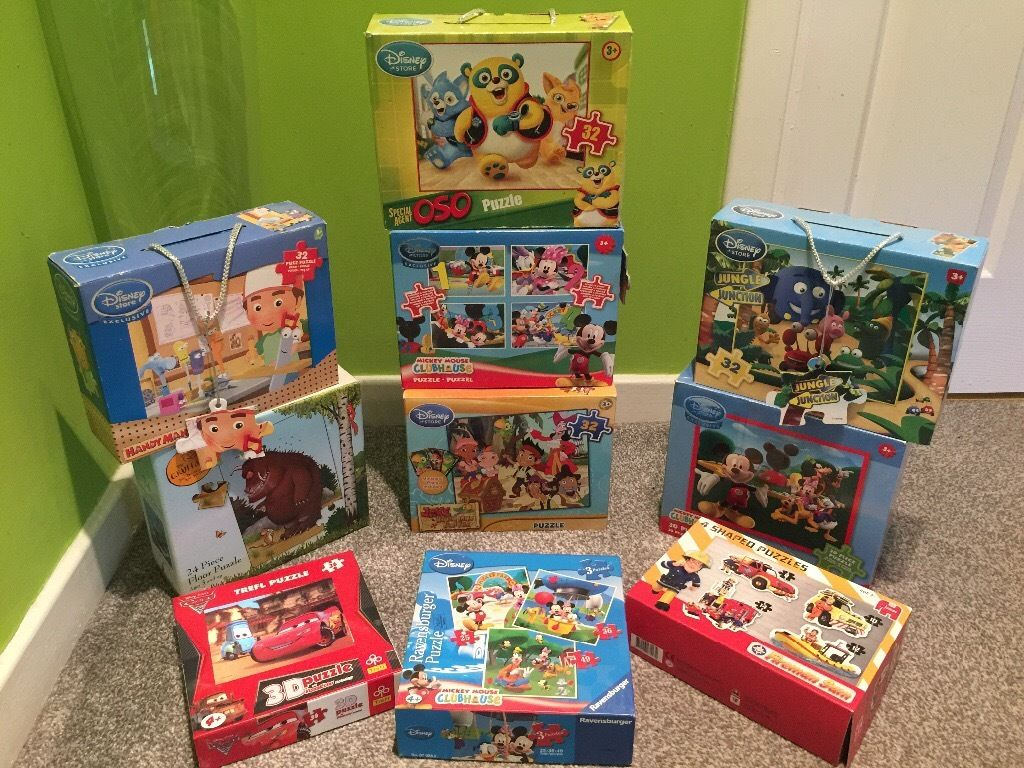 Disney jigsaw collection