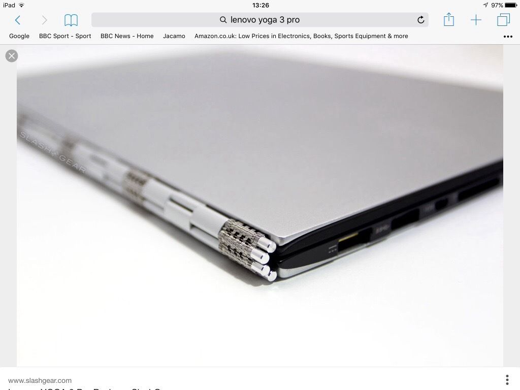 Ultra Thin Ultra Stylish. YOGA Pro 3 Netbook