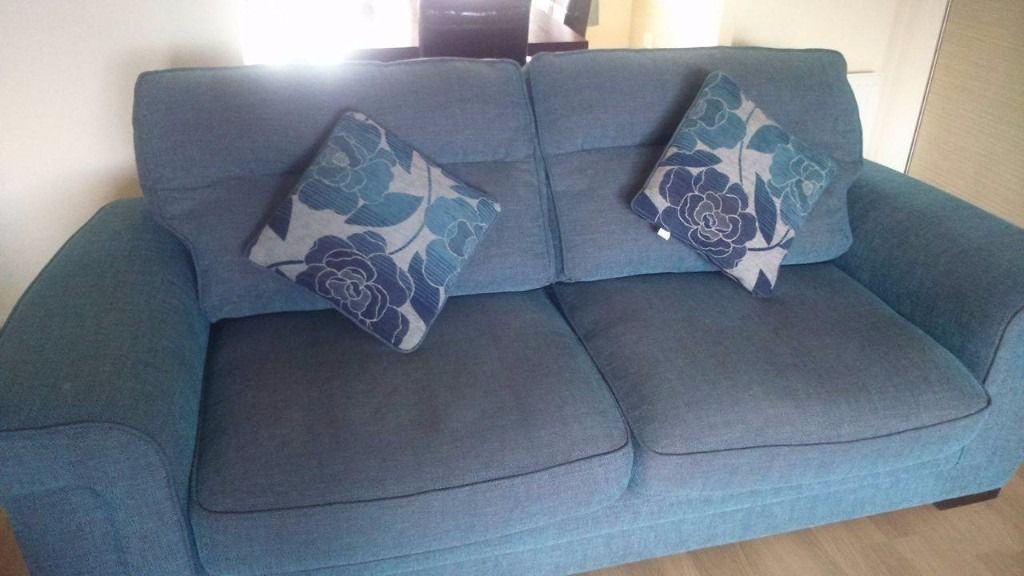 3 2 1 with cushions will sell as singles fabric lovely and comfy MAKE AN OFFER