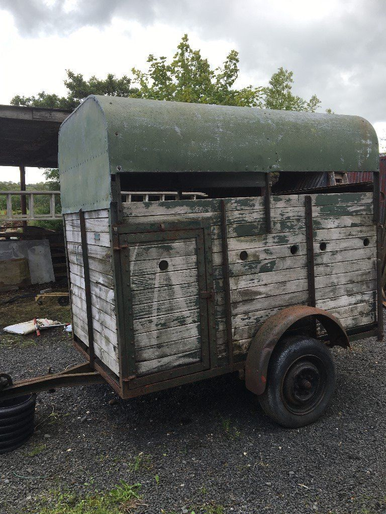 TWO COW TRAILER FOR SALE.