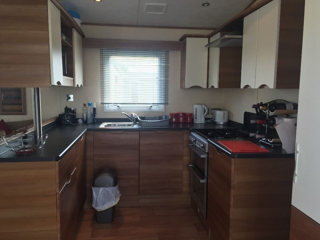luxury caravan on Talacre Beach 5* park nr Prestatyn north wales