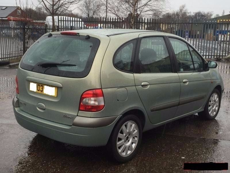 STILL, looking for, Renault Scenic wanted 1600 cc petrol or up to 2.0L diesel, immaculate.