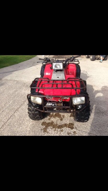 Honda Big Red TRX350d Quad bike for sale