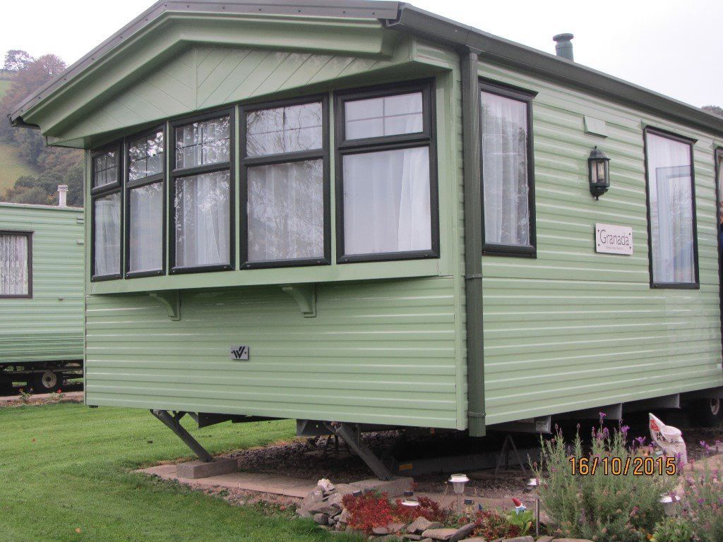 Willerby Granada for sale on a beautiful site in the heart of Mid Wales