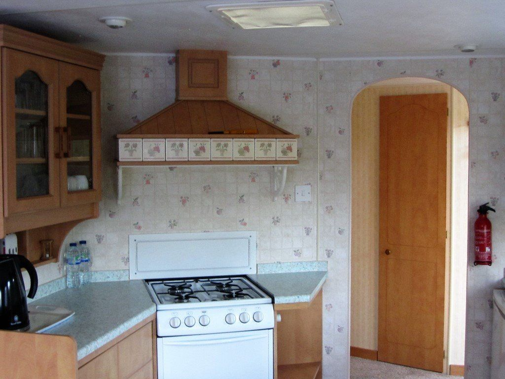 Atlas static caravan for sale on a caravan park in the heart of Mid Wales