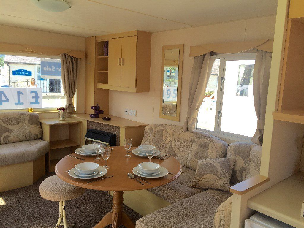 Pre Owned holiday home - perfect starter caravan in towyn