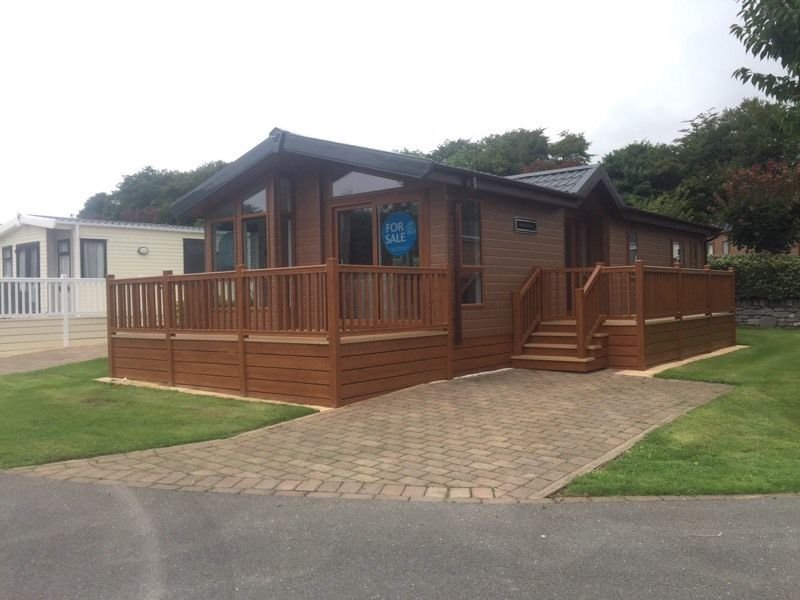 New Hampshire Lodge - 5* Plas Coch Holiday Park, Anglesey N Wales