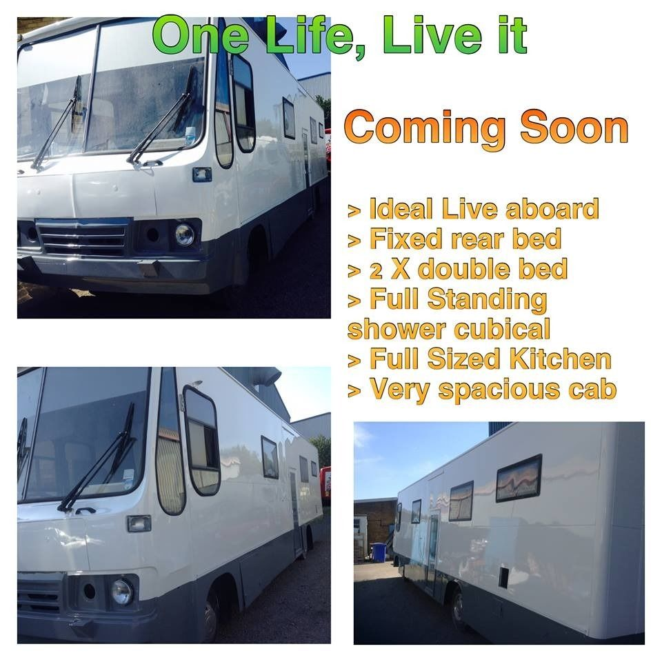 Ex-Library Truck Conversion Motorhome Ideal Live aboard Auto, Right Hand Drive