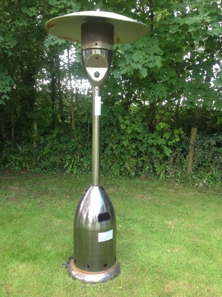 Patio Heater with gas bottle