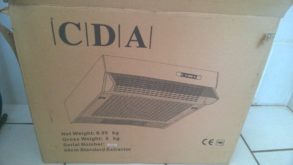 60cm CDA Extraction Hood
