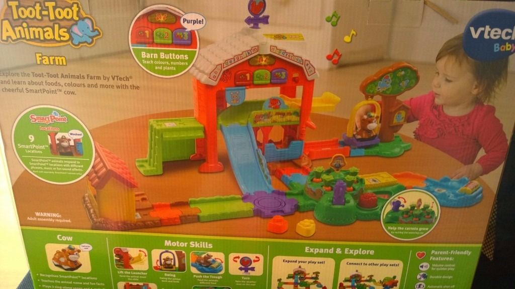 Vtech Toot Toot Animals Farm - Brand new in unopened box