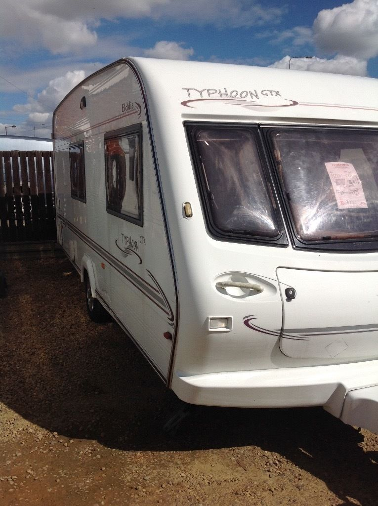 Elddis gtx typhoon 2001 3 berth