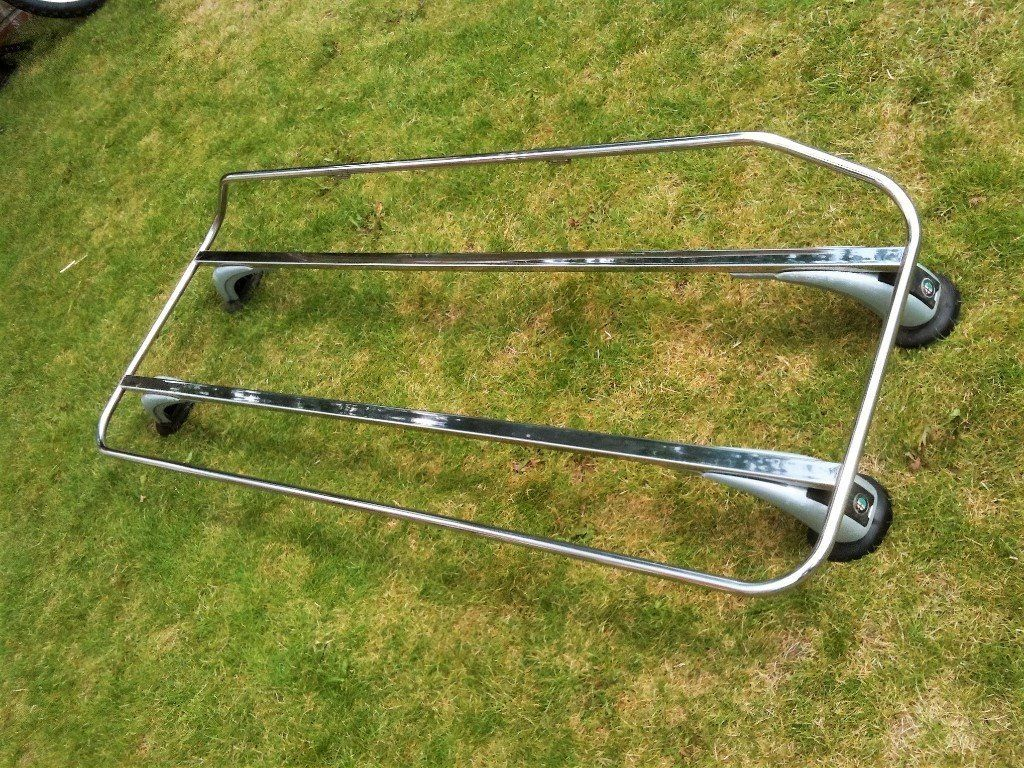 Alfa Spider 916 ('96-'05) luggage boot rack, good condition. Genuine Alfa optional accessory.