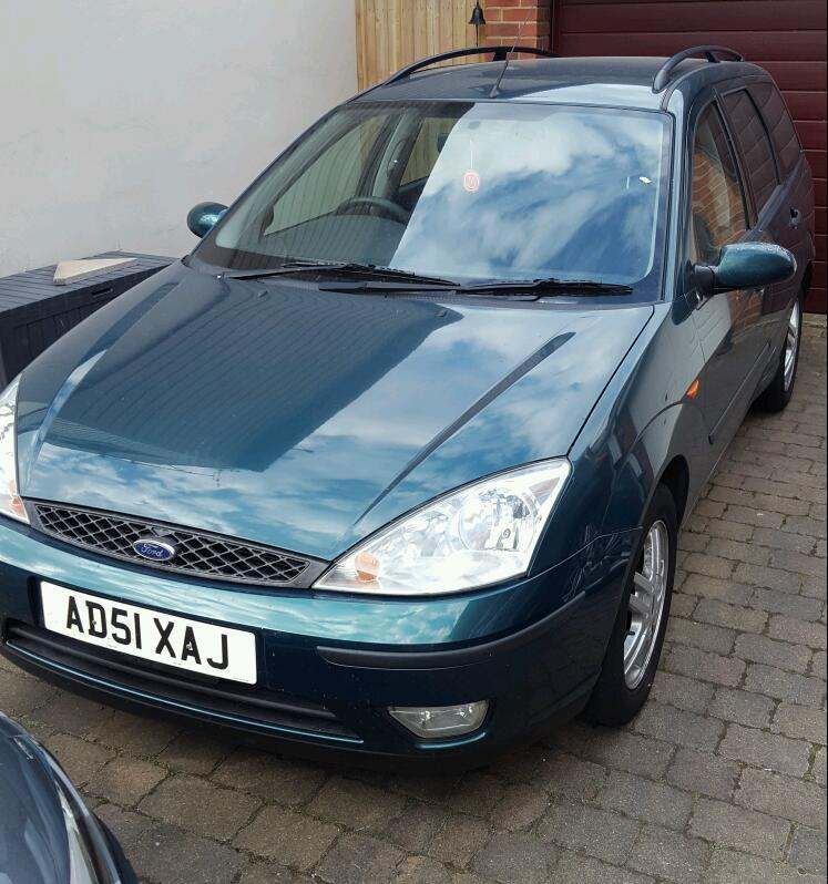 2002 Ford Focus 1.6 Zetec Estate