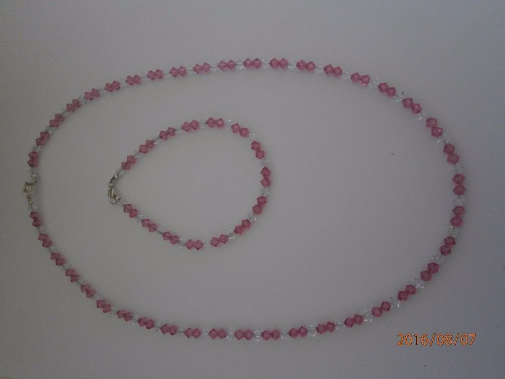 Handmade Necklace and Bracelet Set