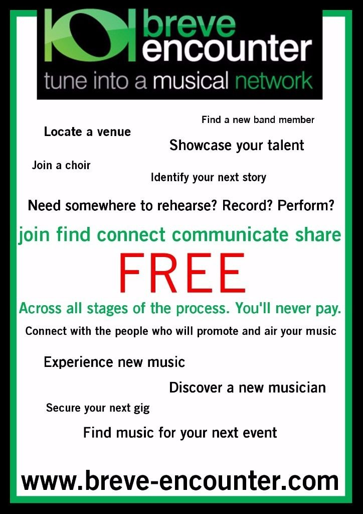 Musicians Wanted to Join Free Music Directory Site and Connect with the Music Industry