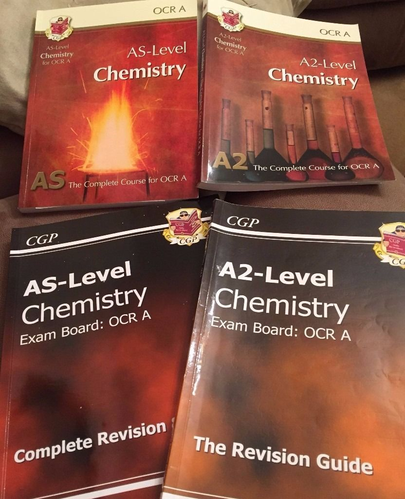 Chemistry AS-Level and A2-Level Textbooks and Revision Guides