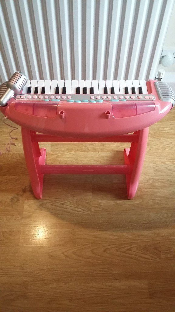 Early Learning - Kids - Pink Piano & Musical Keyboard