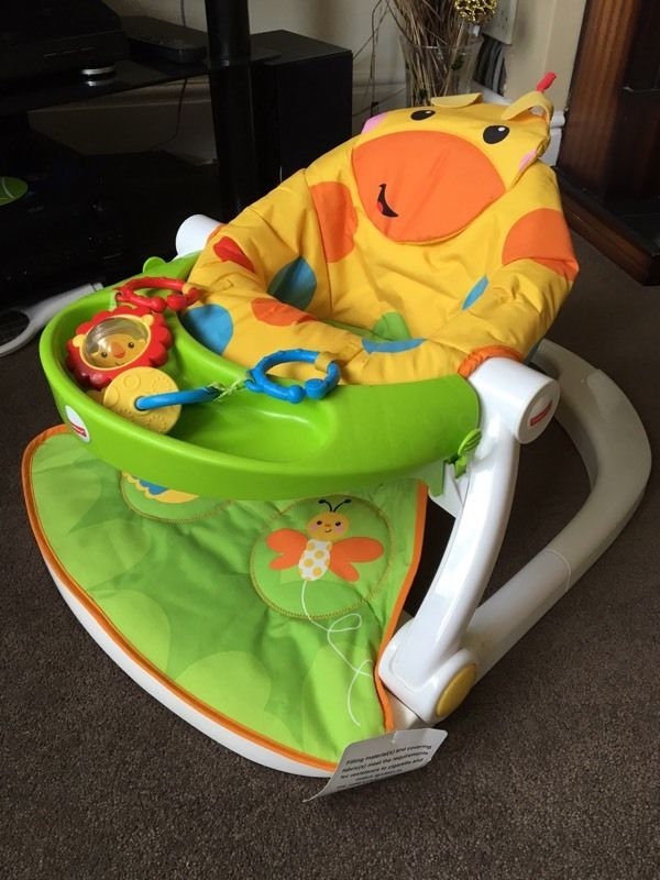 Immaculate Condition Fisher Price Sit Me Up Chair