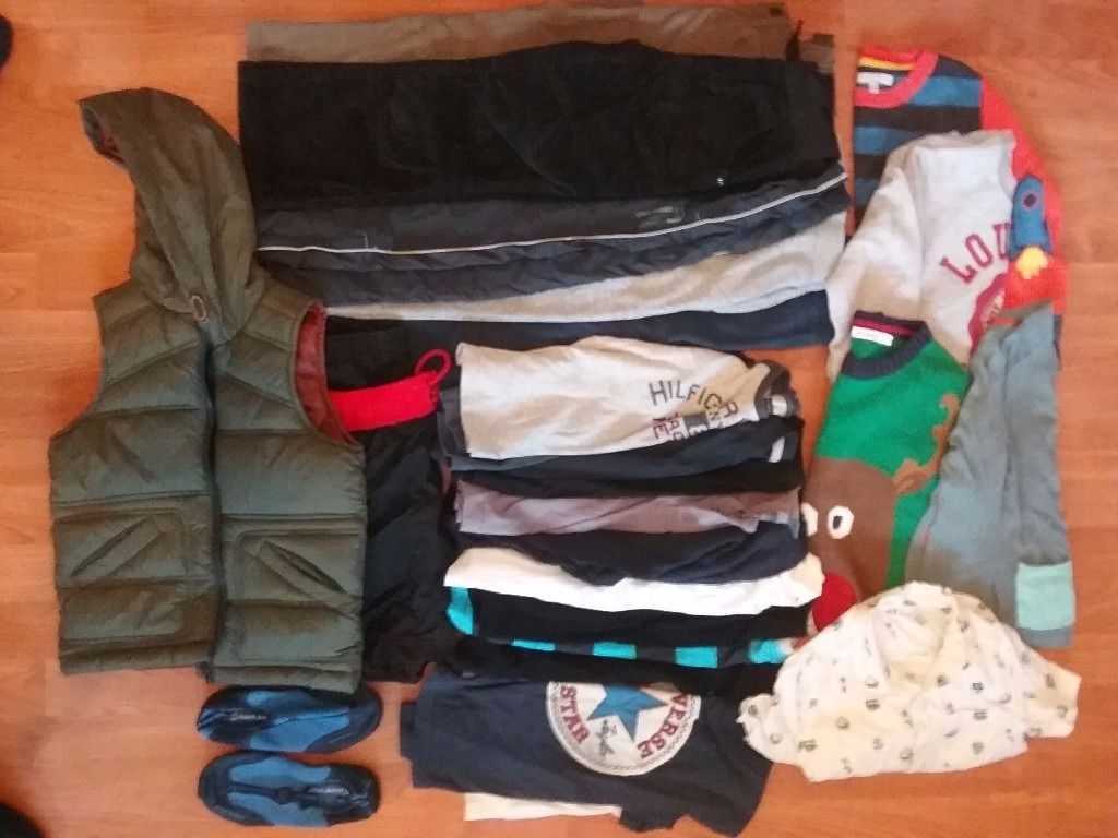 25 Pieces of Assorted Boys Clothing (used) 4-5years -M&S, GAP,H &M, ZARA & OTHER