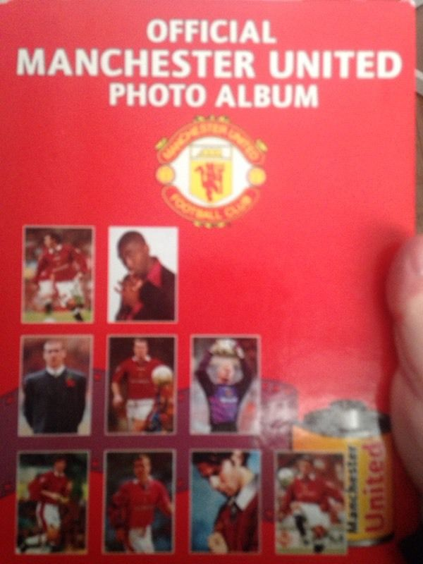 Official Manchester United photo album