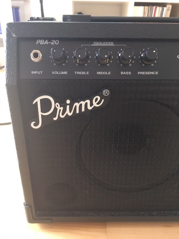 Prime PBA-20 Bass Amplifier