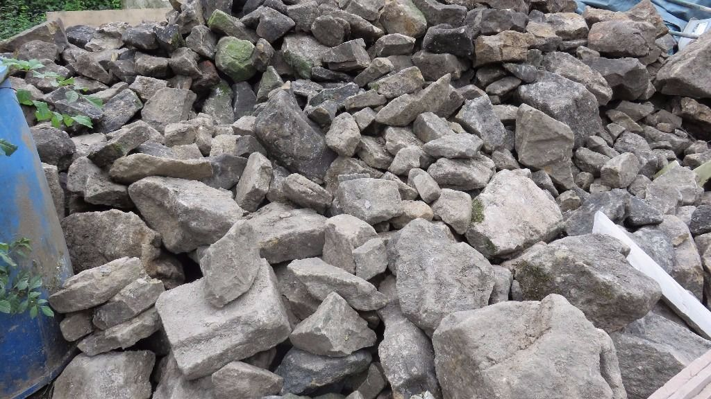 Approx 10 tonnes of random stone free to person willing to take it away. Surplus to requirements