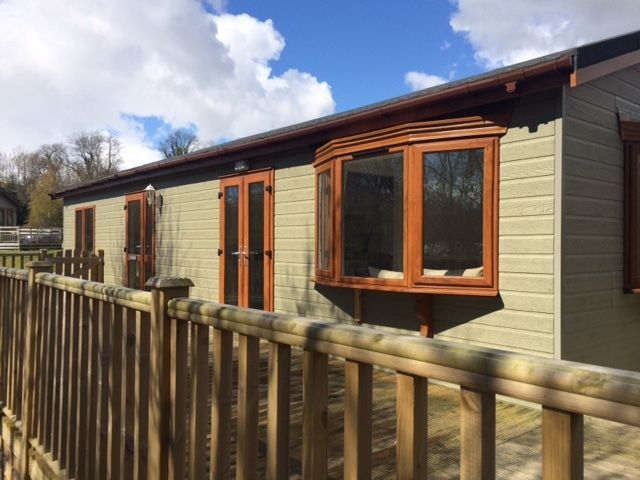 Lodge For Sale On Riverside Leisure Park In Wooler Northumberland